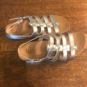 BOC gladiator sandals. Size 8